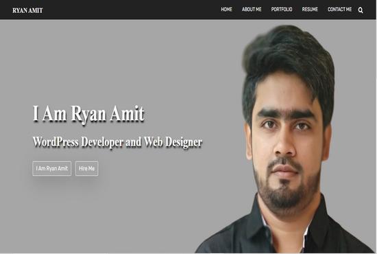I will design WordPress responsive website or blog