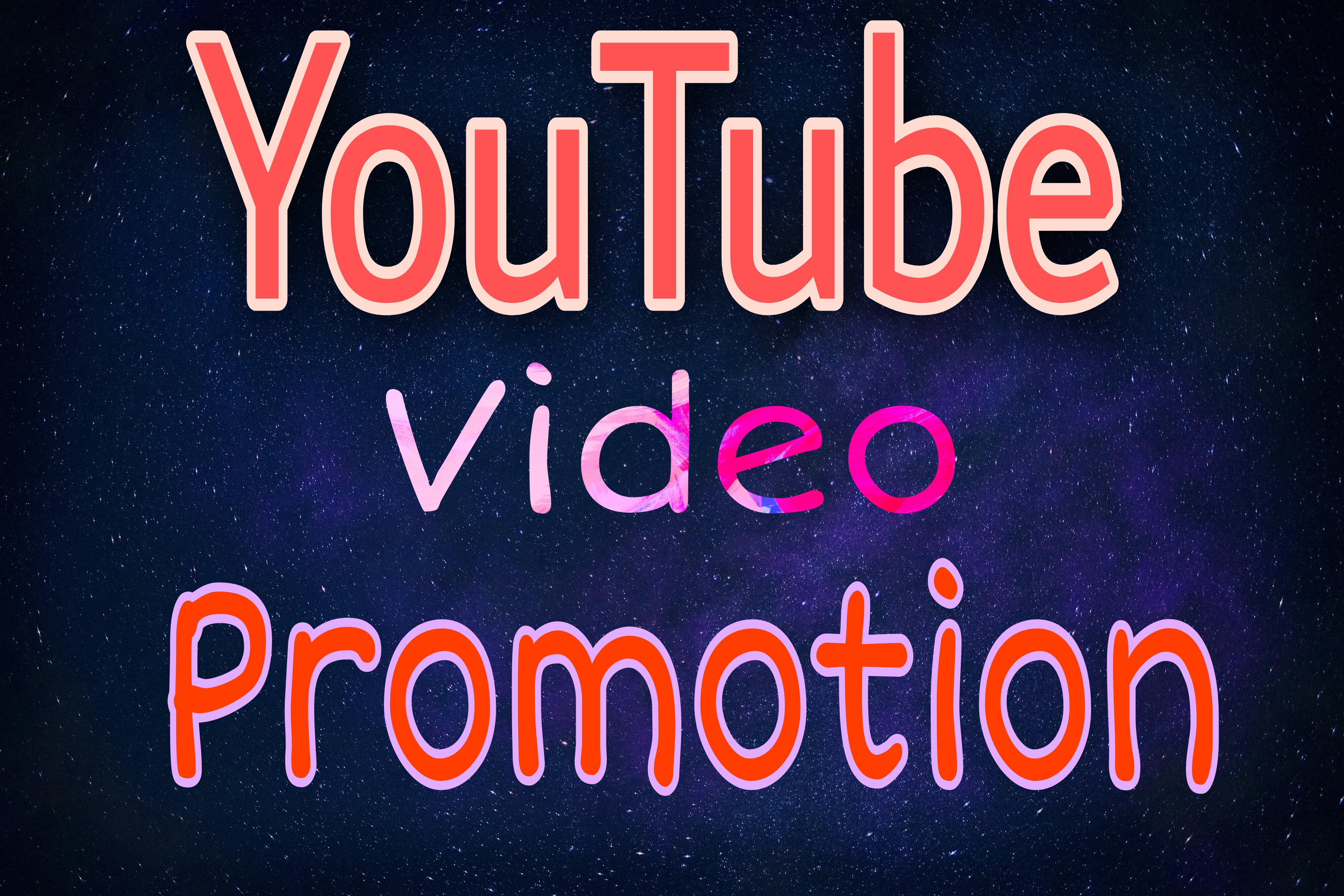 High Quality YouTube video Promotion Via Instantly