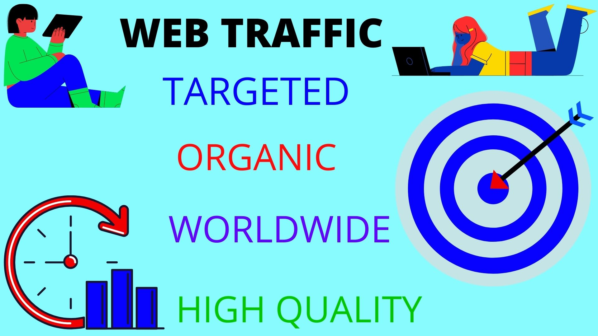 i will drive 15000 real world wild web traffic for your web site