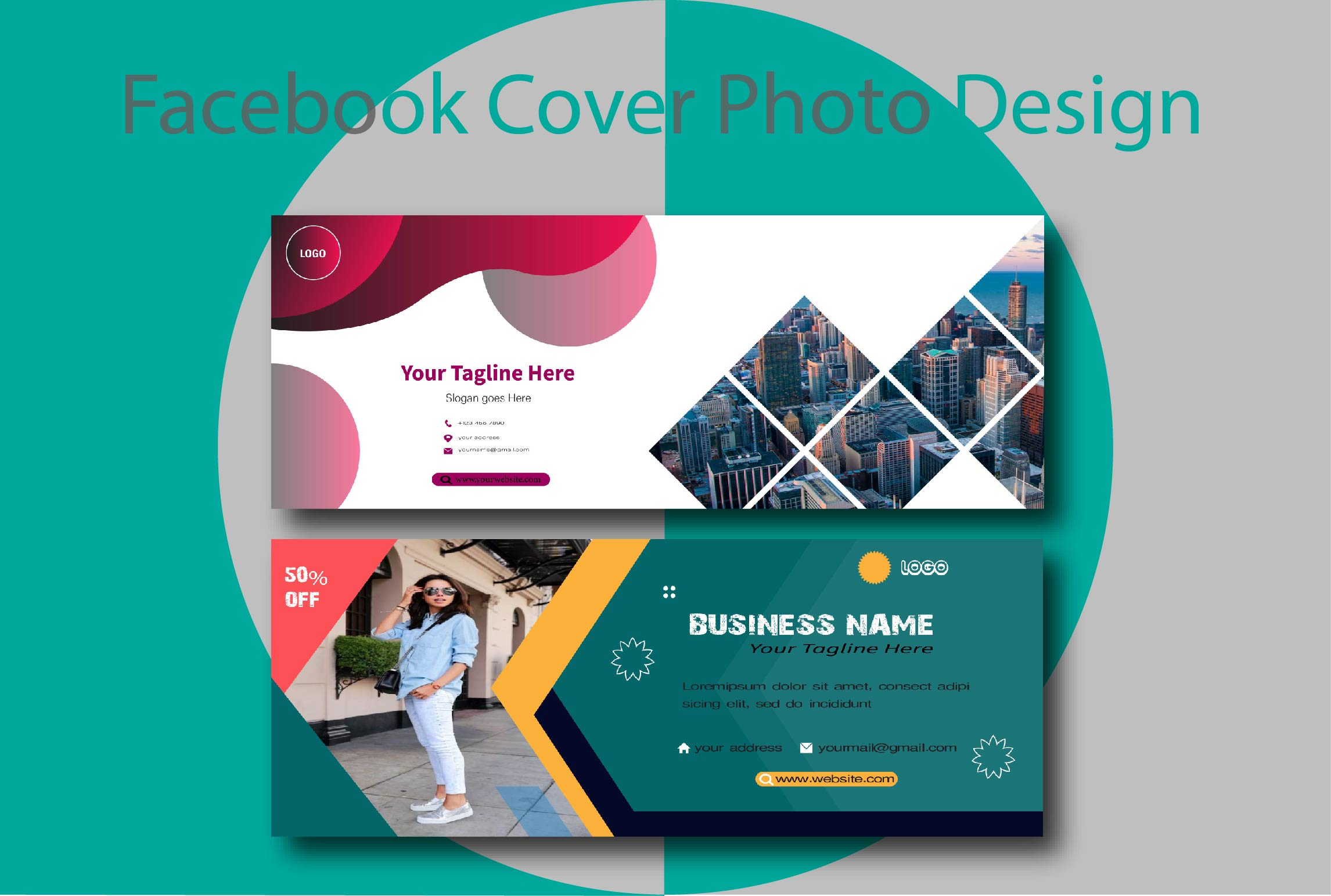 I will design attractive and amazing fb cover image