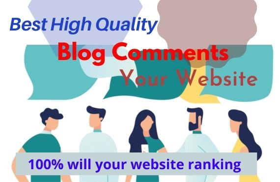 I will do Manually 60 do follow Best Blog comments Backlinks