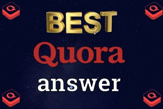 I will Promote your website 20 High quality Quora Answer with your targeted traffic