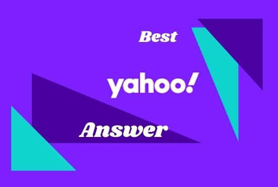 I will promote your website in 10 Yahoo Answers with Clickable link and organic traffic