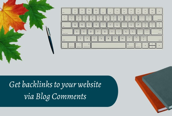 Provide 50 niche relevant manual Blog Comment with Backlinks