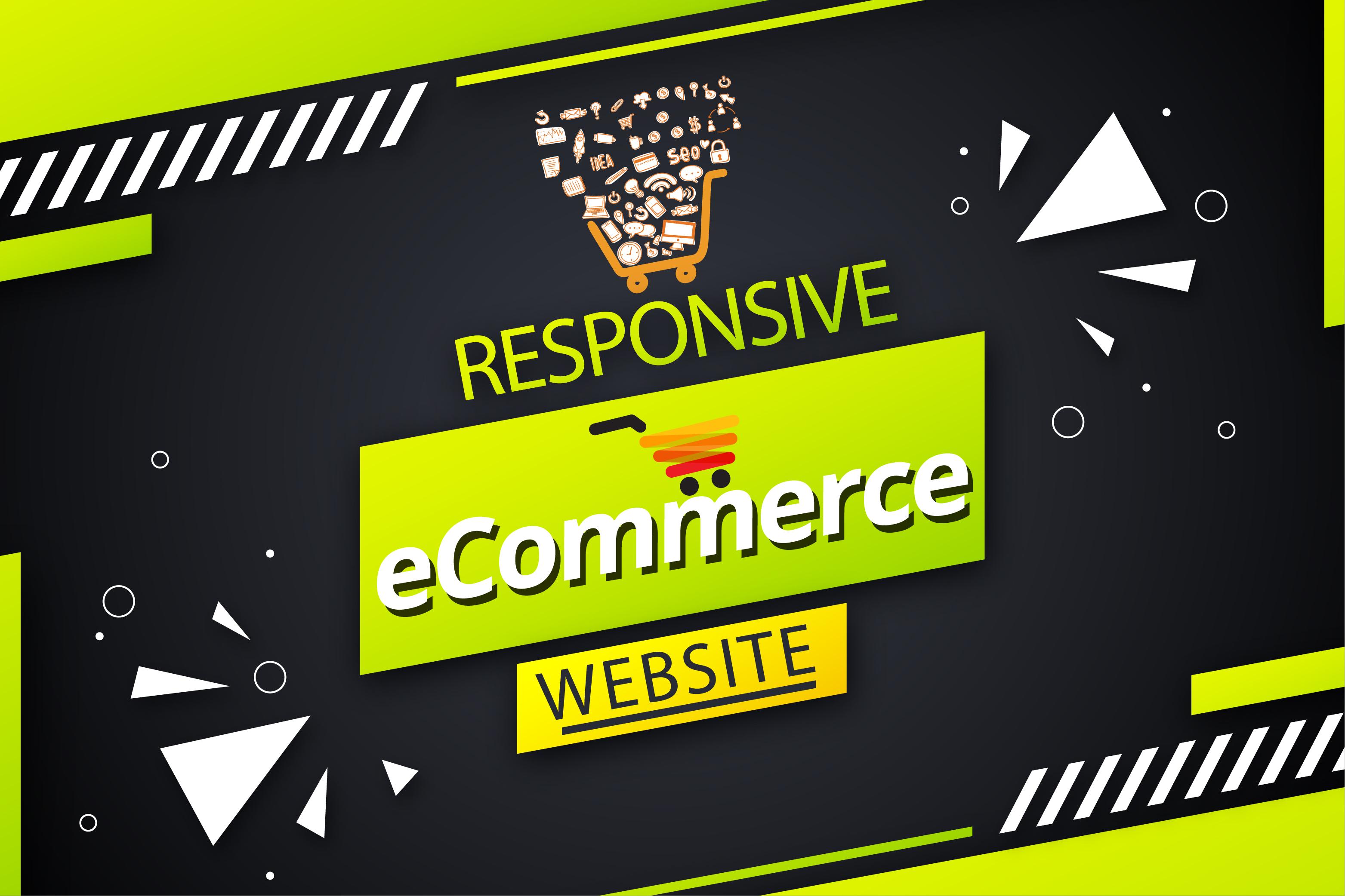 I will build a premium wordpress ecommerce website and design