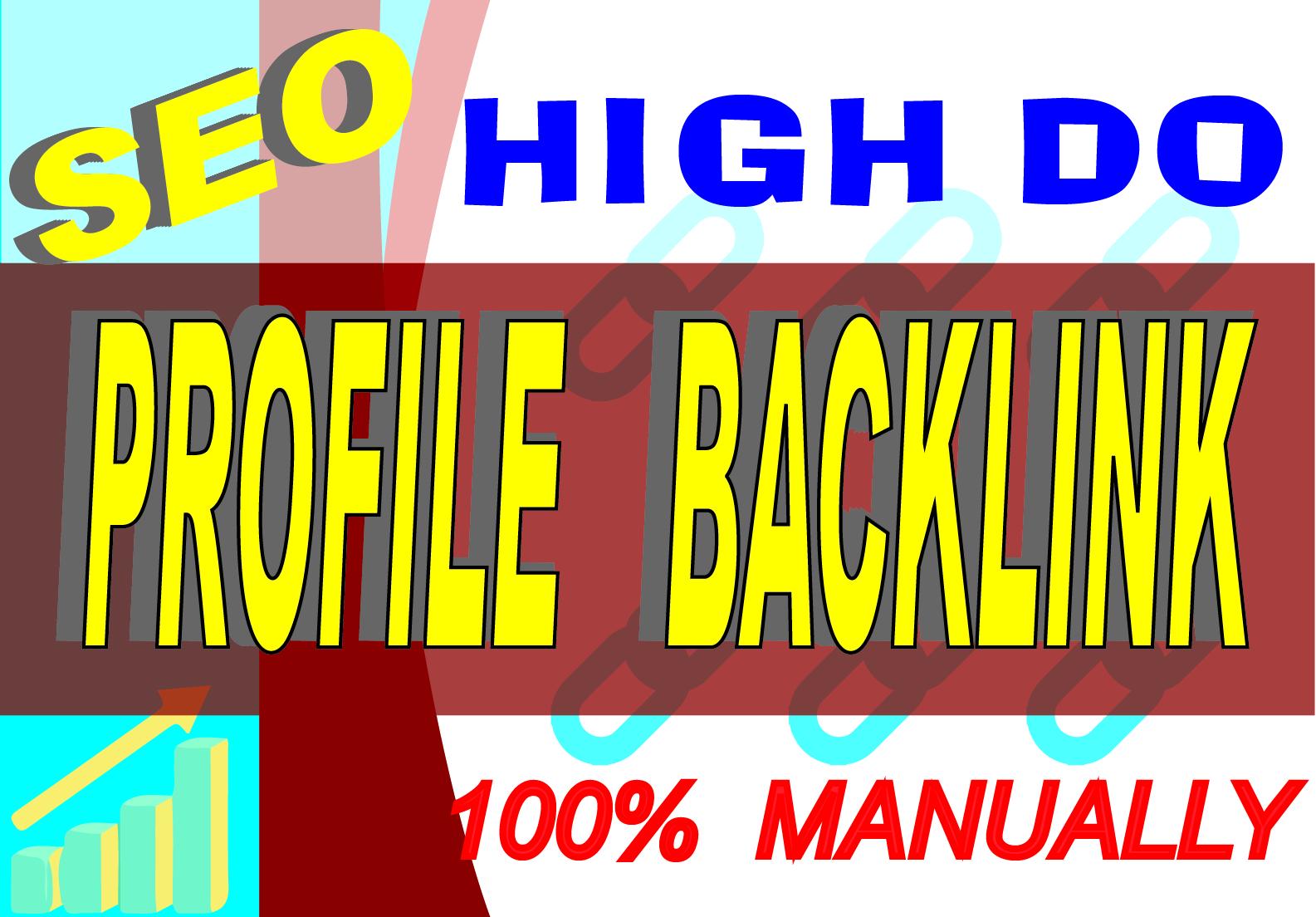 I will create 100 manually web 2.0 backlinks