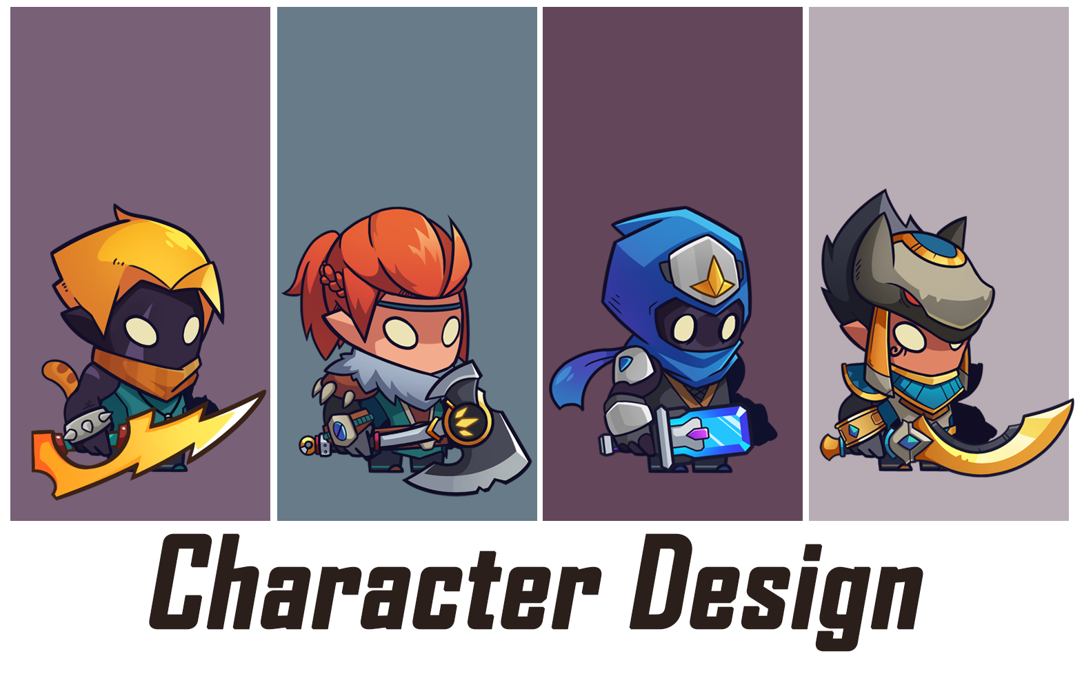 Design character,  MASCOT cartoon & concpet art