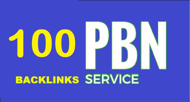 100 PBN Backlinks High PA DA and Blogger Backlink to get fast rankup