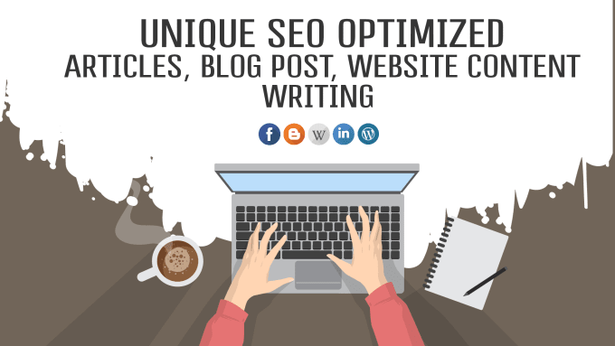 I will write high quality, SEO optimized article or blog post