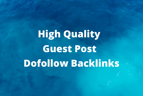 I will write and publish 2 niche related High-Quality DA Guest Posts