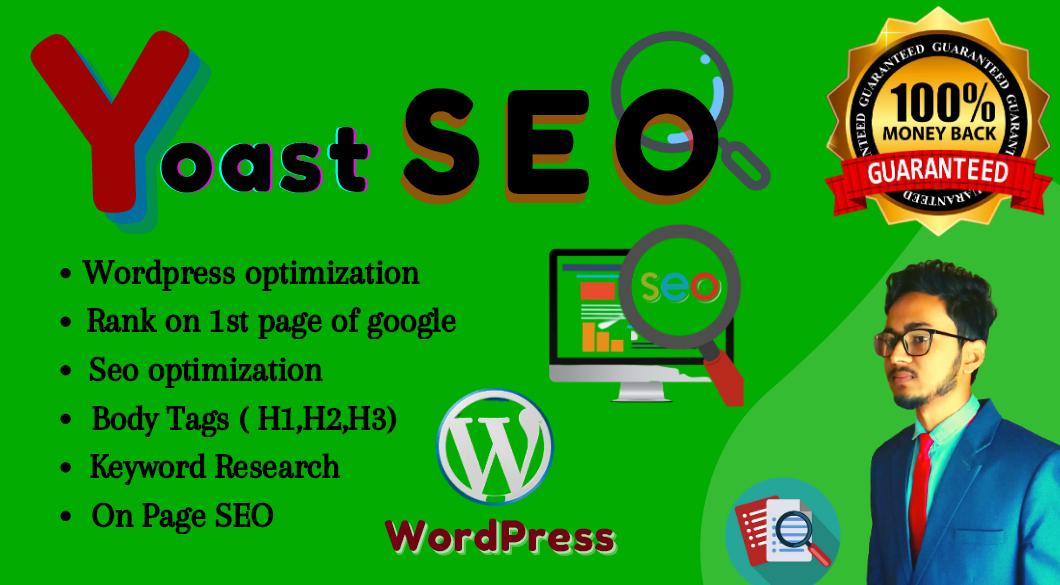 WordPress on page optimization yoast SEO on page