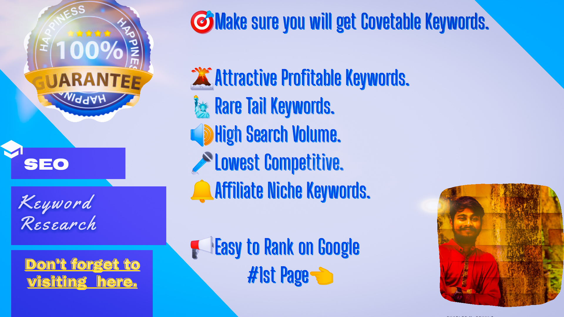 Long & Rare types Keyword Research within 24 hours.