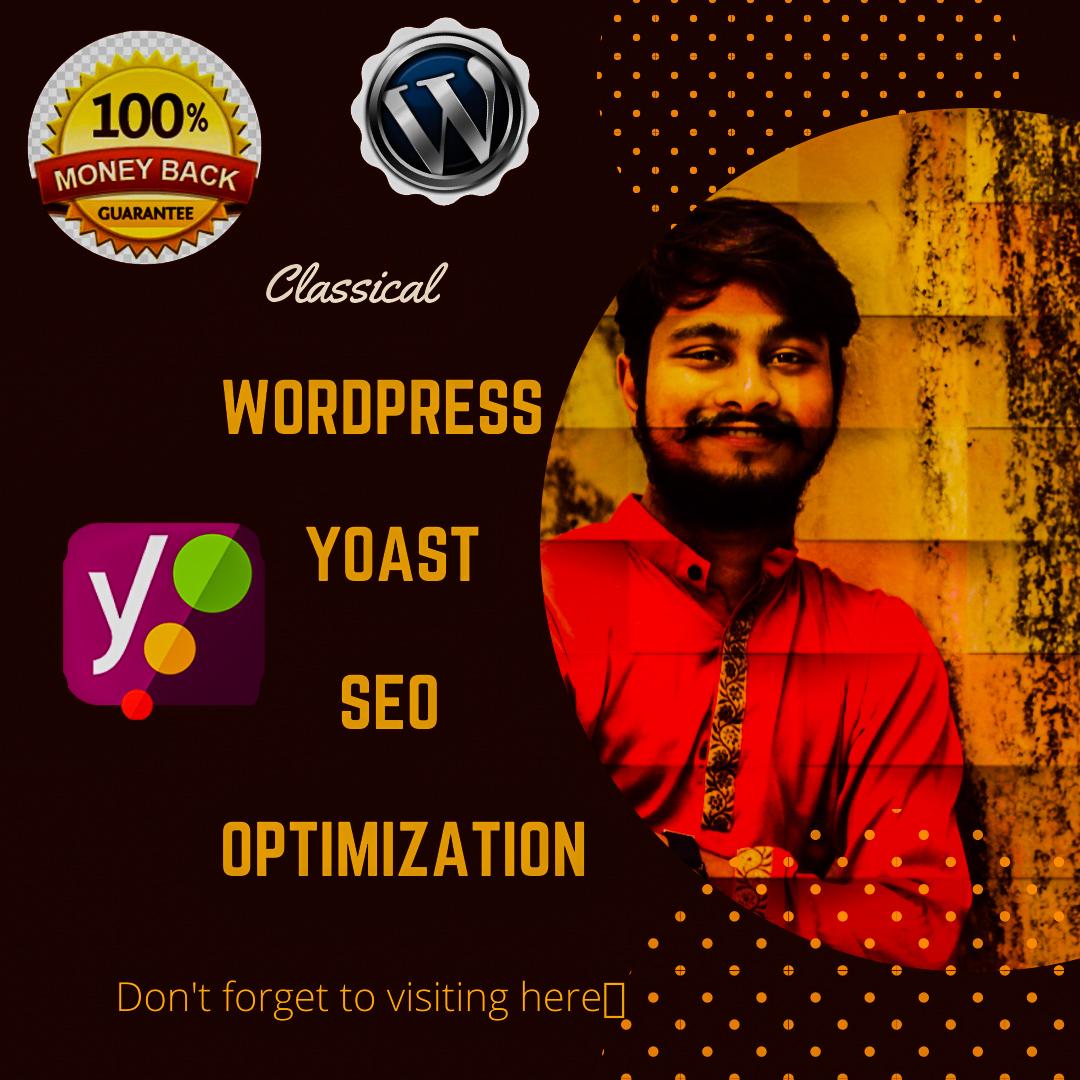 I will do Wordpress Yoast SEO Optimization for your Website