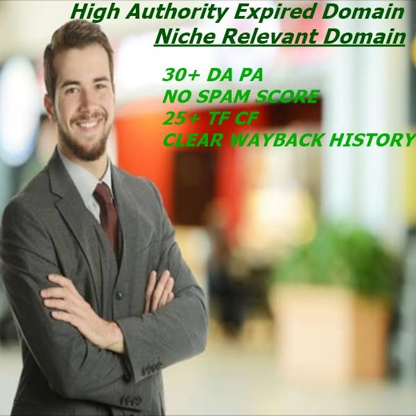 I will Provide 5 Niche relevant expired domain
