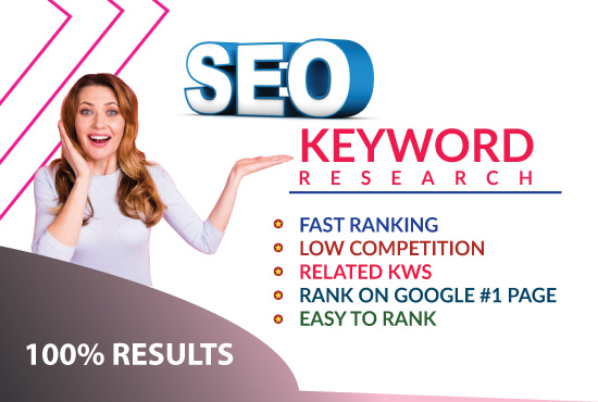 expert SEO keyword research to rank site fast