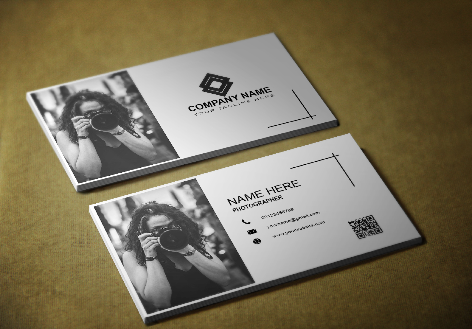 I will create unique and professional business cards design for you.