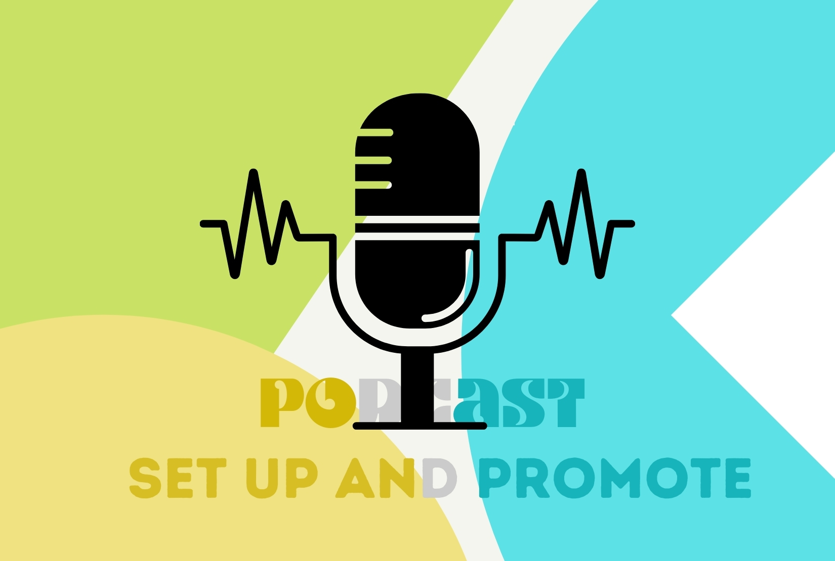 set up podcast and promote on fb with millions of people