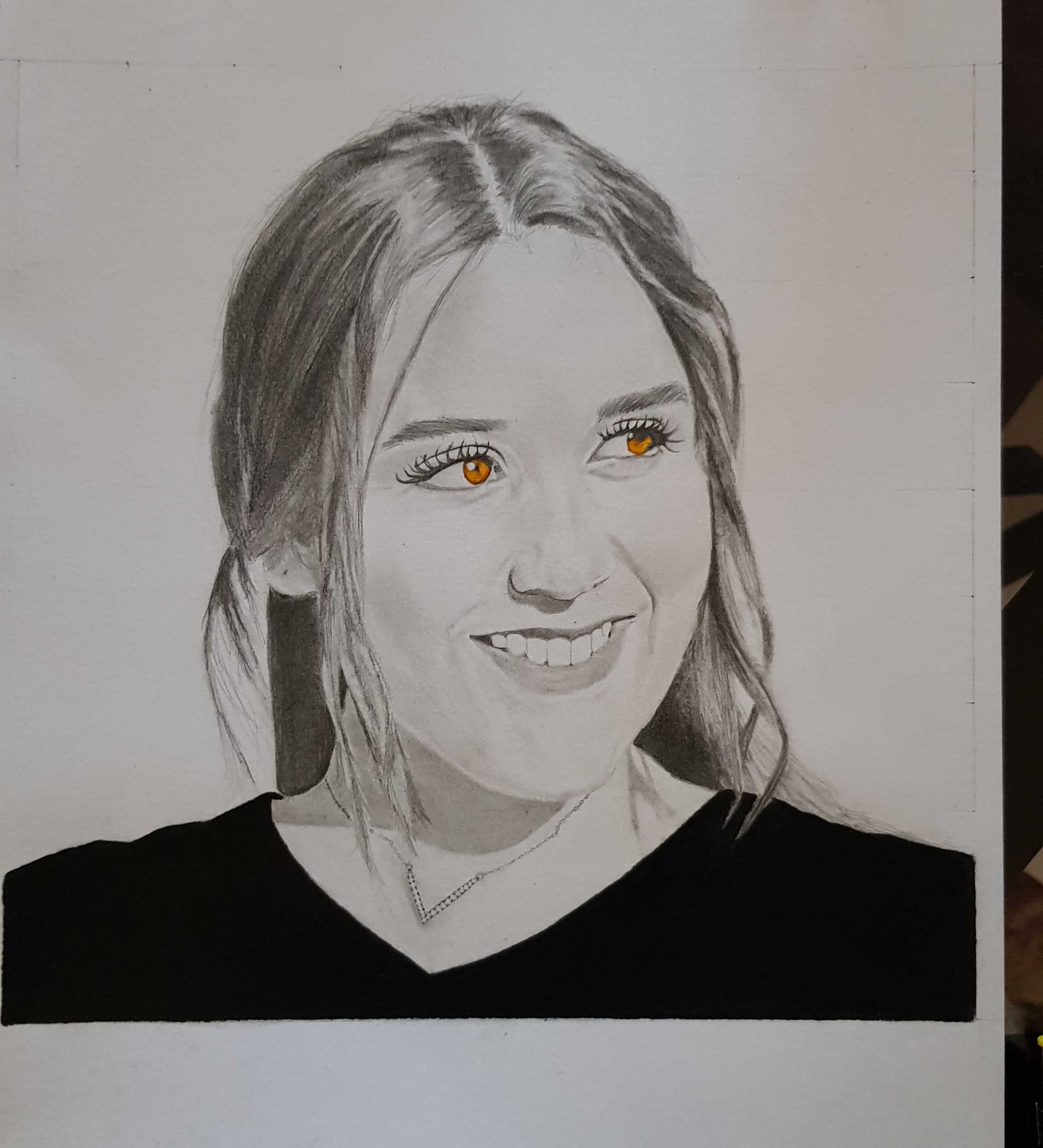 I will draw a realistic portrait for you or one of your loved ones