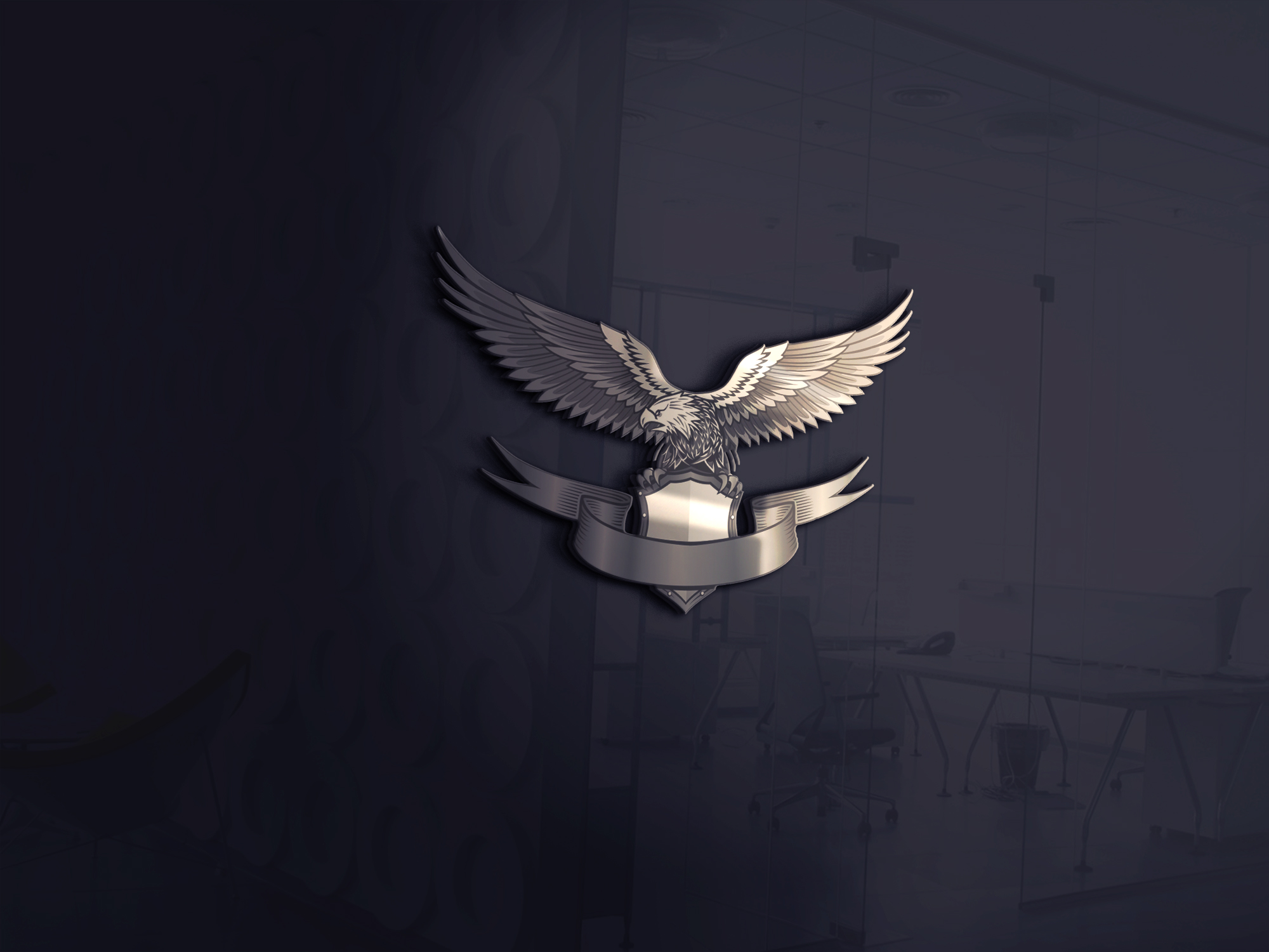 I will create a realistic 3D mockup with your logo or design 5 image
