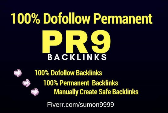boost rankings with manual dofollow SEO backlinks,  link building
