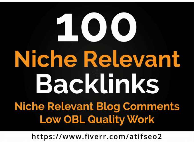 create 100 niche relevant blog comments seo backlinks