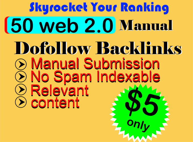 create google high authority web 2 0 backlinks