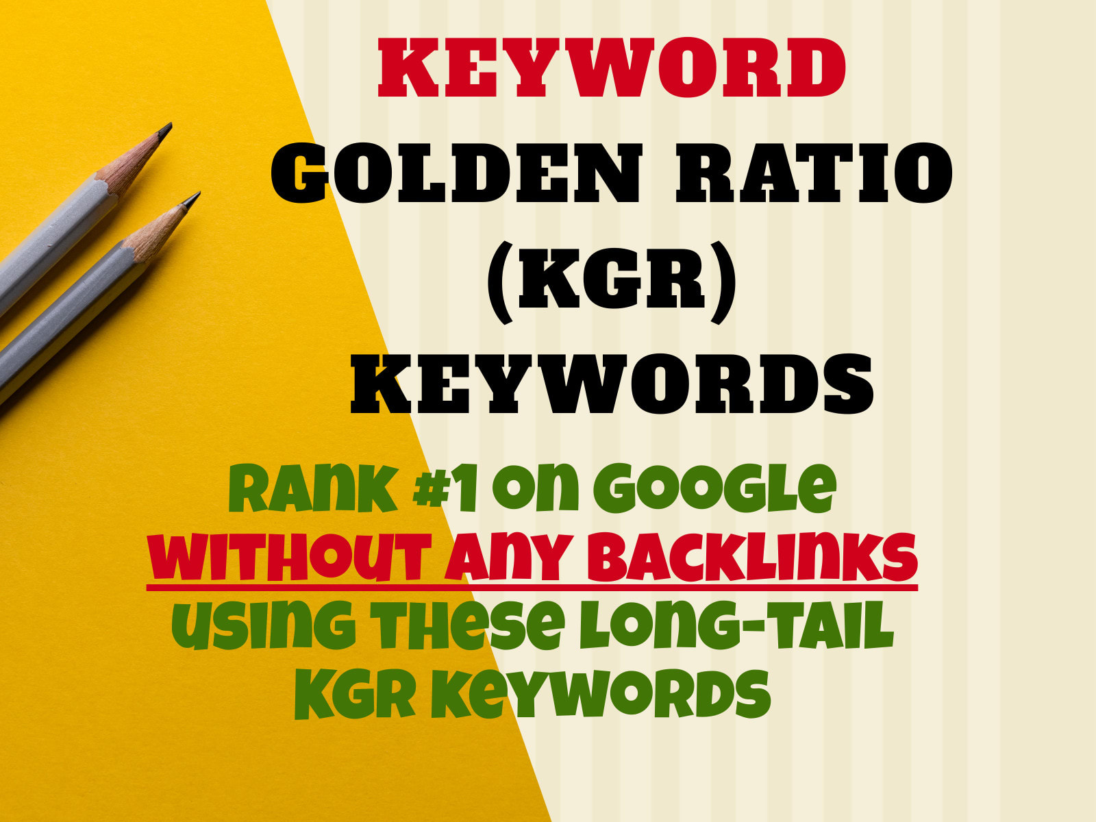 I will kgr keyword research for amazon affiliate niche site