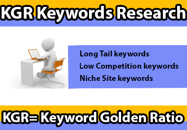 I Will Do Best KGR Keyword Research and Competitor Analysis