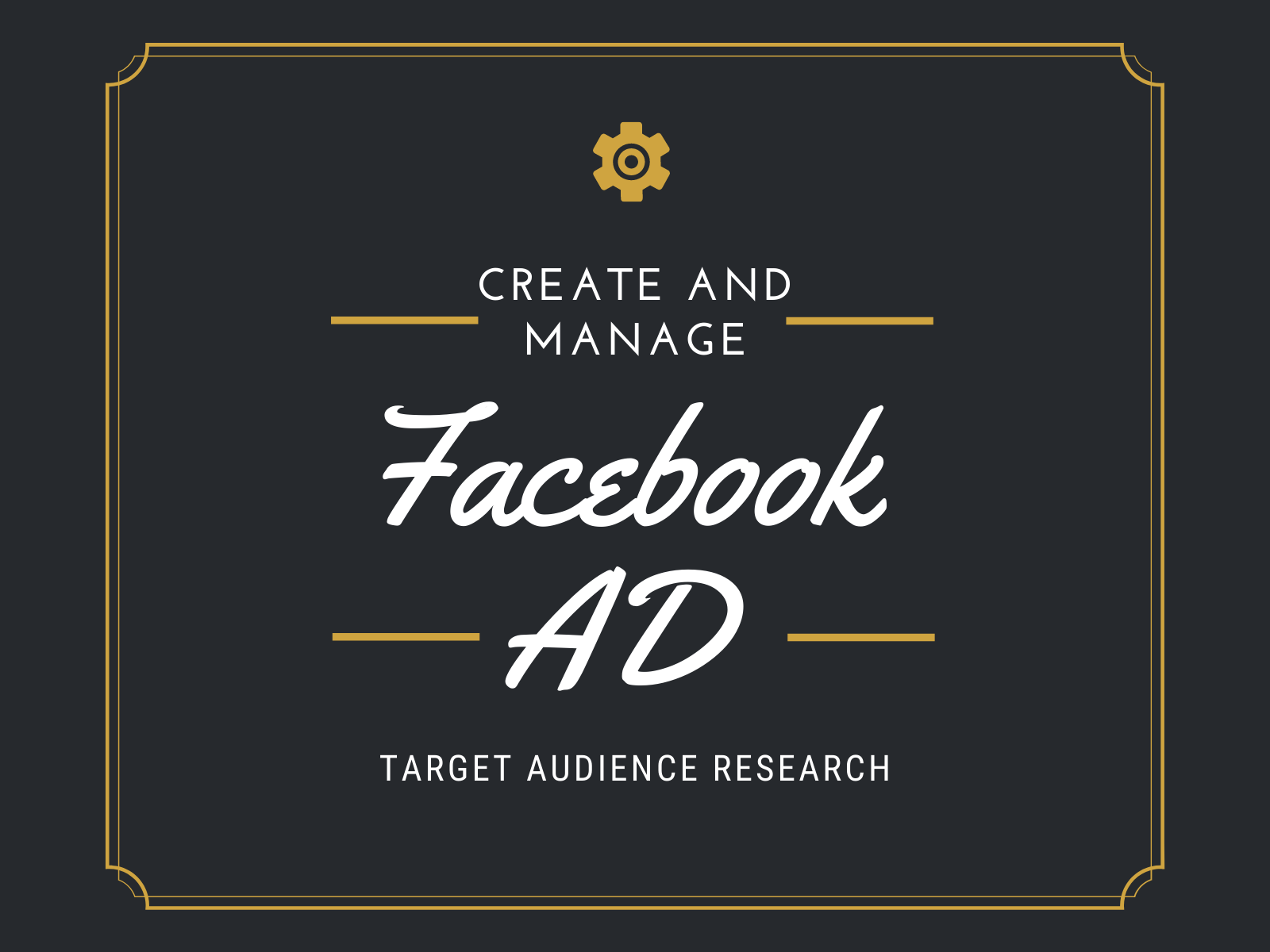 I will Build And Manage your Facebook Ads