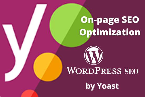 will do WordPress on page SEO optimization