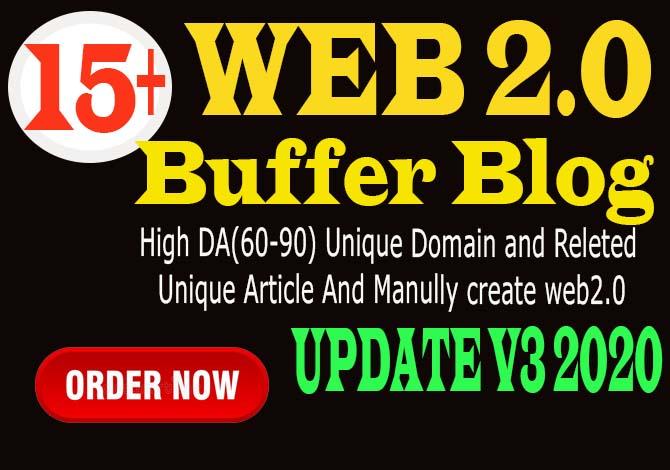 15 manually super buffer blog high authority backlinks