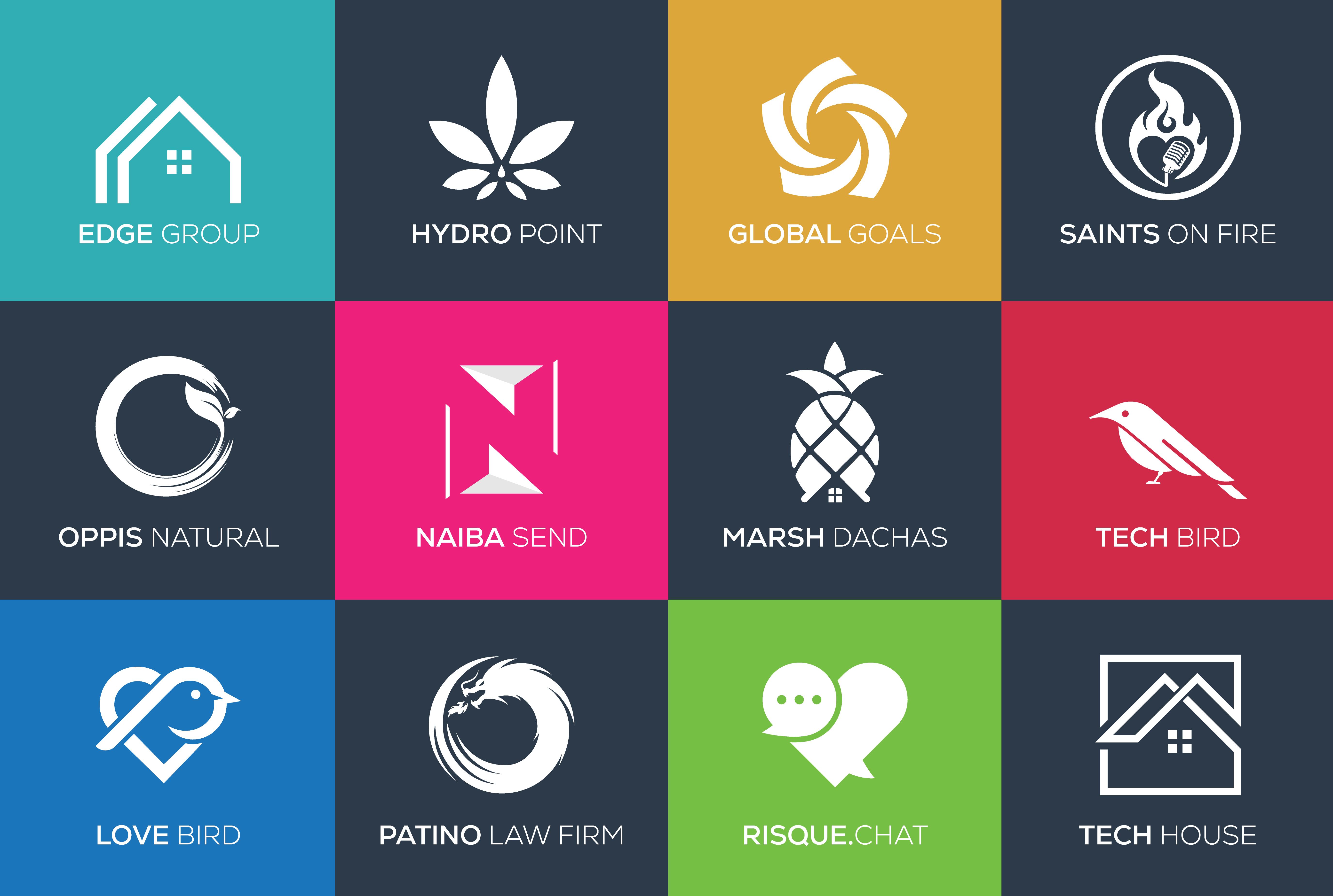 Modern Minimalist Creative Logo Design