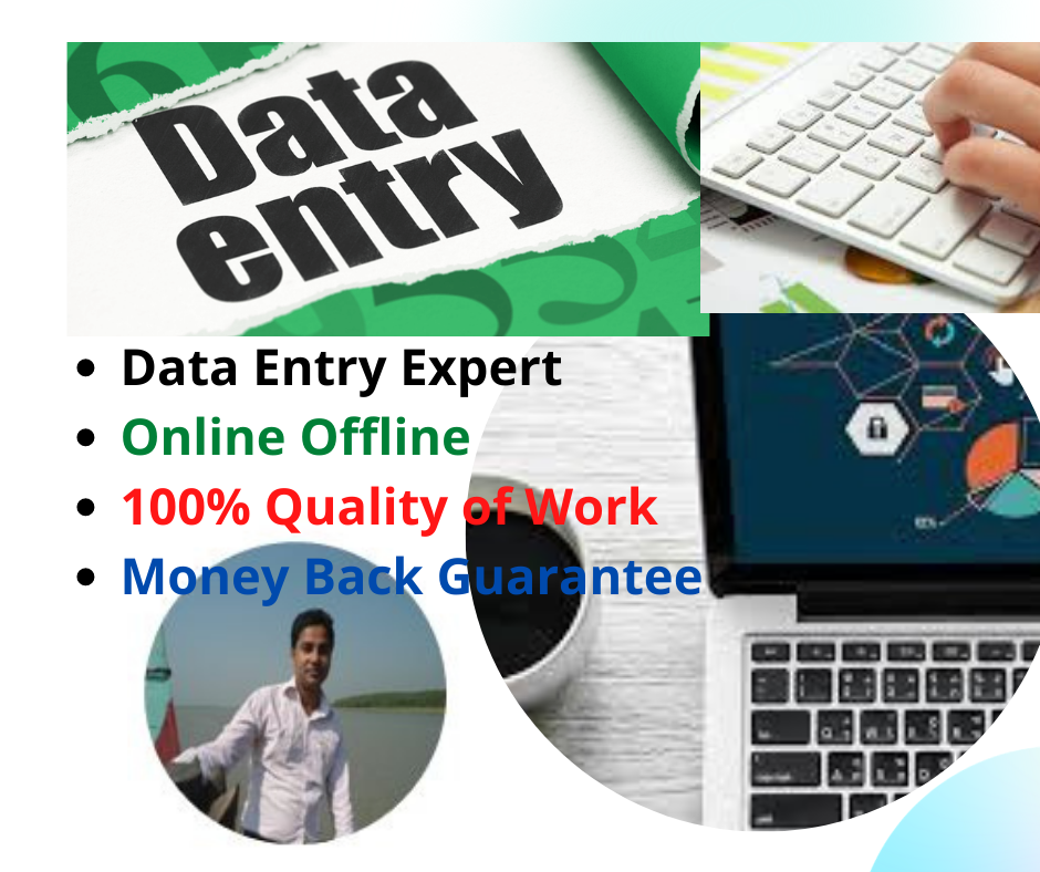 I Will Do Your Any Type Data Entry Work