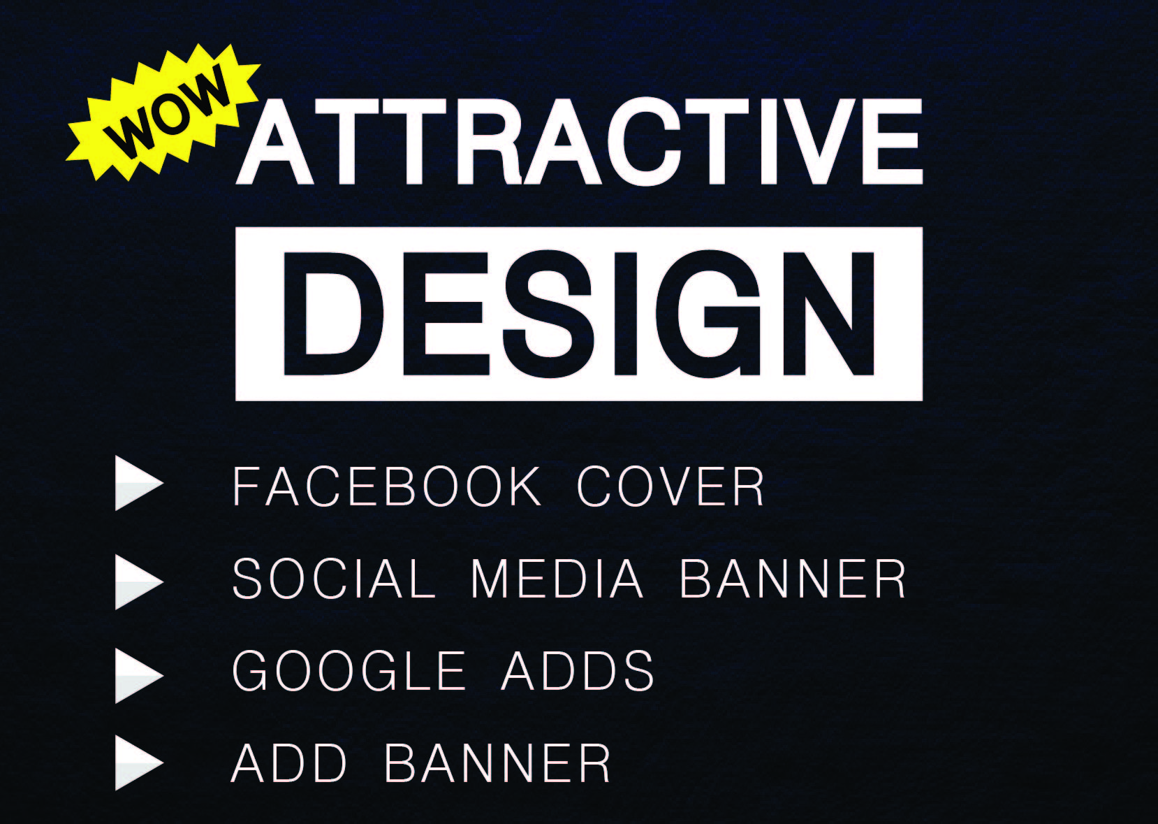 I will create 3 unique Social post and Facebook cover design