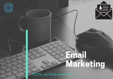 I Will give 1k Verified Email list for Email Marketing