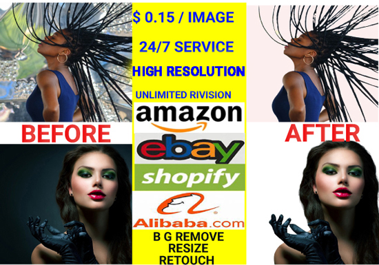 I Will Do Background Removal,  retouch,  resize