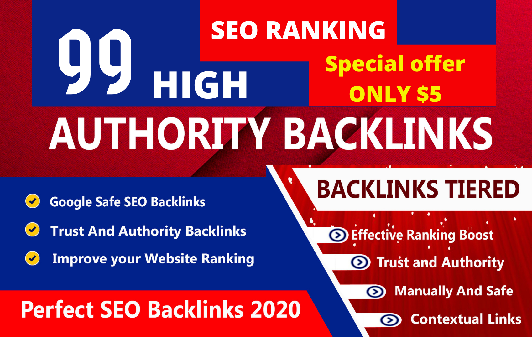 SEO backlinks white hat manual link building service for google top ranking