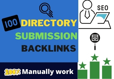 I will provide high quality high PR 200 Directory submission