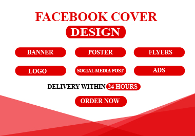 I will create professional facebook cover and banner design for you