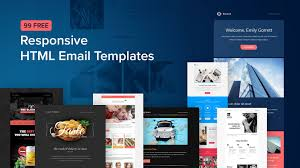 I will design an exceptional and responsive HTML Email Templates