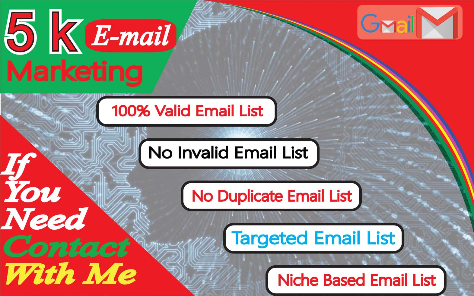 I will provide 5000 active Email list in few Hours