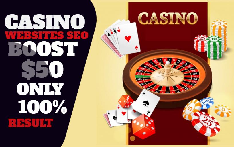 100 SEO Backlinks for Gambling and Casino / Poker /Betting websites