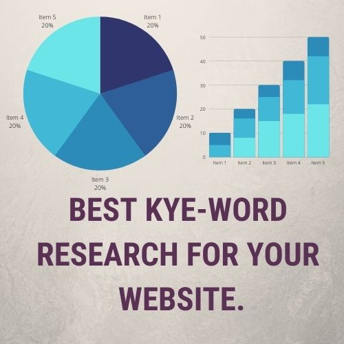 I will do Best SEO Keyword Research & Competitor Analysis Service