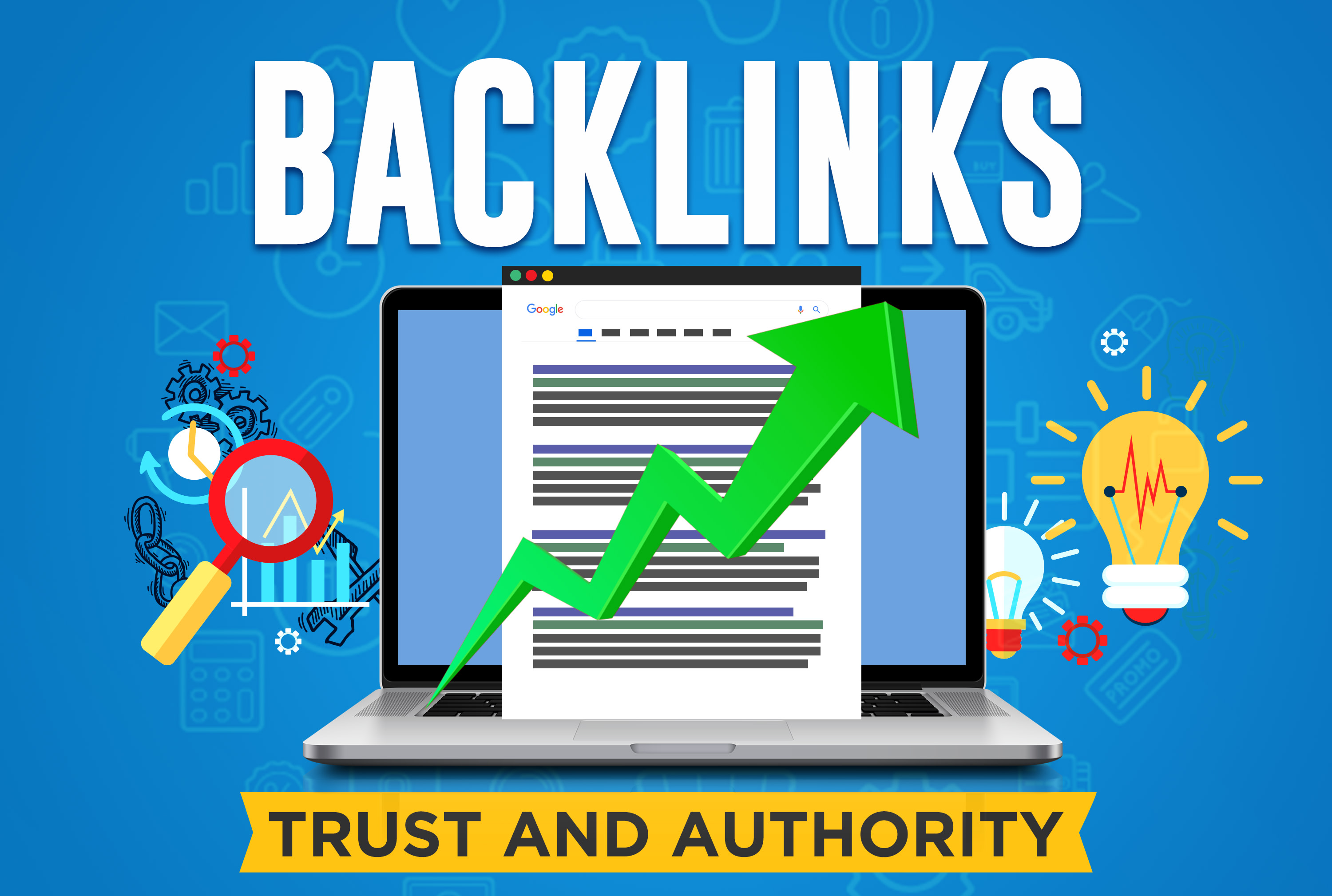 manually create high authority seo backlinks from top brands