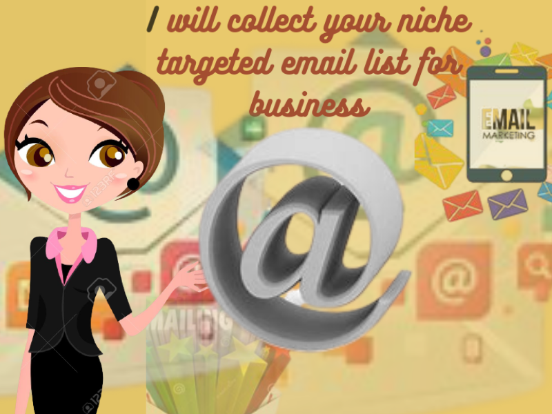 collect your niche targeted email list for business
