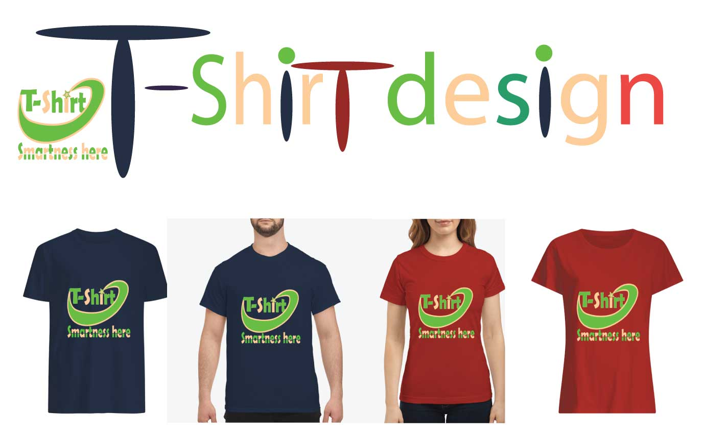 I will do custom T-shirt design for your professional,  business and brand