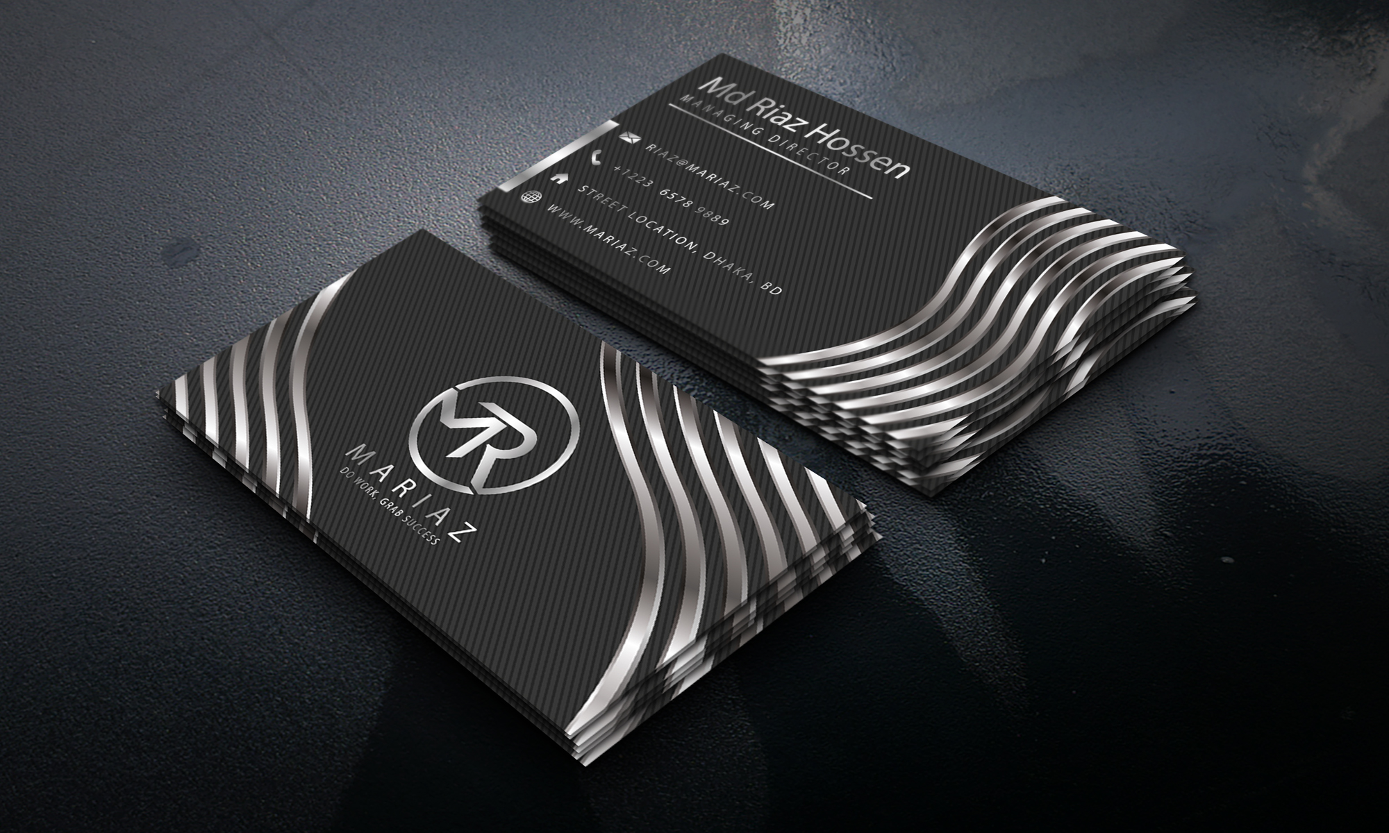 Professional and luxury business card design