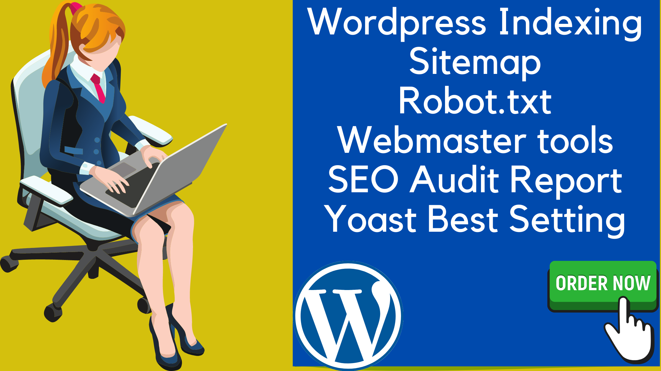 I will do an On Page SEO and Technical On Page Optimization For your WordPress website