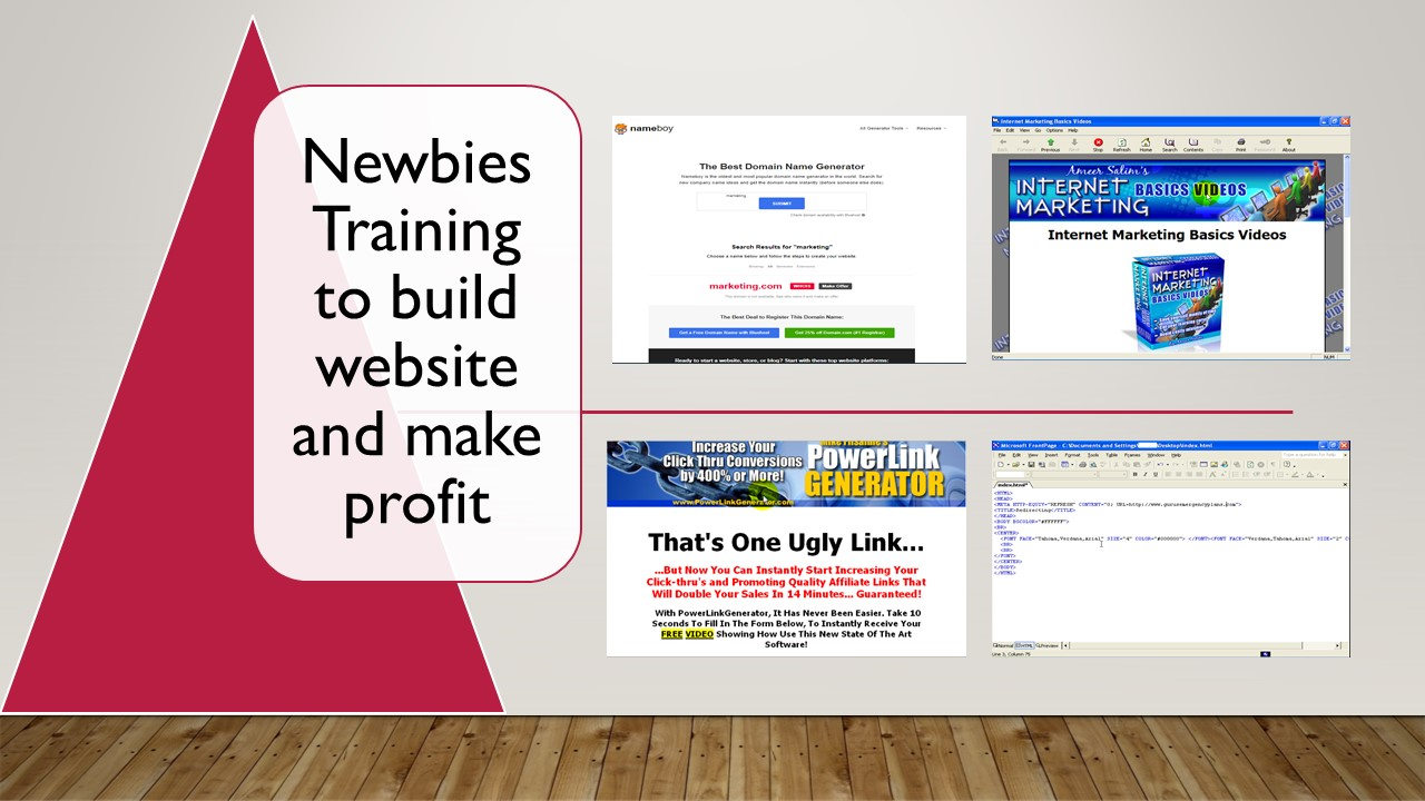 Complete Beginners training video to gain money from the internet