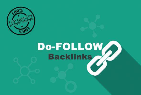 Provide 1000 Do-follow backlinks for your links